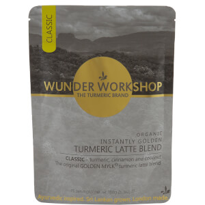 WUNDER WORKSHOP Instantly Golden Vegan Turmeric Latte Blend - 150g
