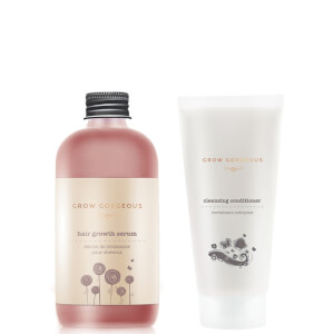 Grow Gorgeous Hair Density siero and Cleansing Balsamo