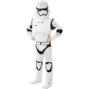 Star Wars Boys' Deluxe Stormtrooper Fancy Dress