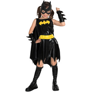 DC Comics Batman Deluxe Girls' Batgirl Fancy Dress