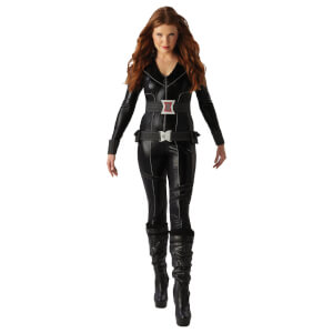 Marvel Avengers Women's Black Widow Fancy Dress