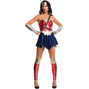 DC Comics Women's Wonder Woman Dawn of Justice Fancy Dress