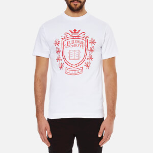 Billionaire Boys Club Men's Crest Crew Neck T-Shirt - White