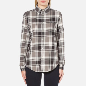 Polo Ralph Lauren Women's Georgia Flannel Shirt - Brown