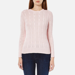Polo Ralph Lauren Women's Julianna Crew Neck Jumper - Antique Pink