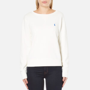 Polo Ralph Lauren Women's Long Sleeve Crew Sweatshirt - Nevis