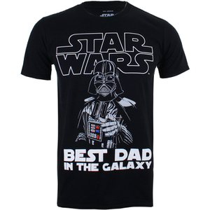 T-Shirt Homme Star Wars Vador Best Dad - Noir