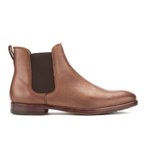 Polo Ralph Lauren Men's Dillian Leather Chelsea Boots - Polo Tan