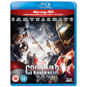 The First Avenger: Civil War 3D (enthält 2D Version)