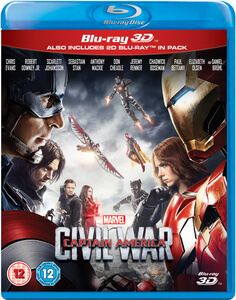 The First Avenger: Civil War 3D (enthält 2D Version)