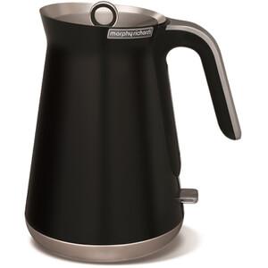 Morphy Richards 100002 Aspect Steel Jug Kettle 1.5L - Black