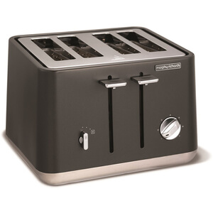 Morphy Richards 240004 Aspect Steel 4 Slice Toaster - Titanium
