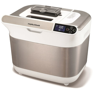 Morphy Richards Premium Plus Bread Maker - Ice White
