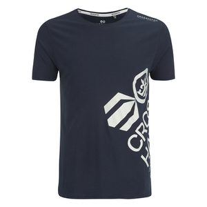 Camiseta Crosshatch Nazmin - Hombre - Azul oscuro