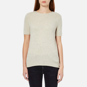 Theory Women's Tolleree Cashmere Jumper - Oatmeal Heather