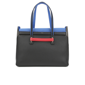 Furla Women's Supernova Large Tote Bag - Black/Blue