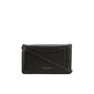Marc Jacobs Women's Recruit Cross Body Wallet - Black