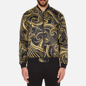 Versace Jeans Men's All Over Print Jacket - Black