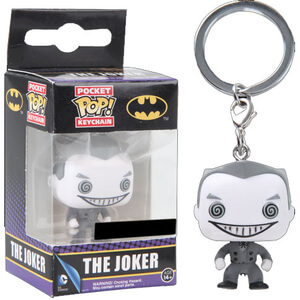 DC Comics Black and White Joker Funko Pop! Keychain