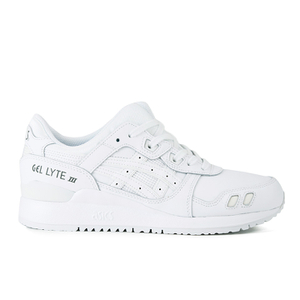 Asics Gel-Lyte III Leather Trainers - White