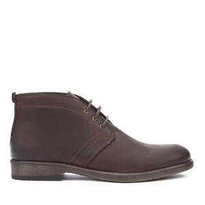 Wrangler Men's Castle Desert Boots - Dark Brown