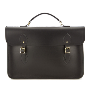 The Cambridge Satchel Company Men's Slim Document Case - Black