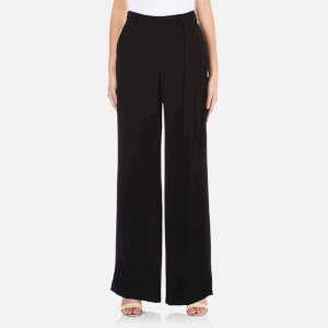 Gestuz Women's Justine Wide Leg Trousers - Black