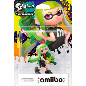 Inkling Girl (Lime Green) amiibo (Splatoon Collection)