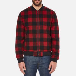 Penfield Men's Glendale Buffalo Plaid Jacket - Red