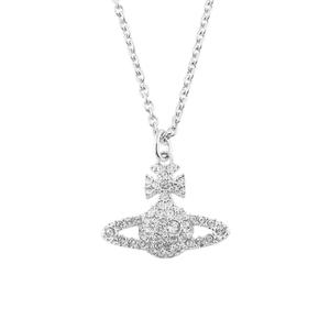 Vivienne Westwood Jewellery Women's Grace Bas Relief Pendant - Crystal