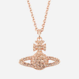 Vivienne Westwood Jewellery Women's Grace Bas Relief Pendant - Light Peach