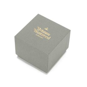 Vivienne Westwood Jewellery Women's Thin Lines Flat Orb Stud Earrings - Gold: Image 3