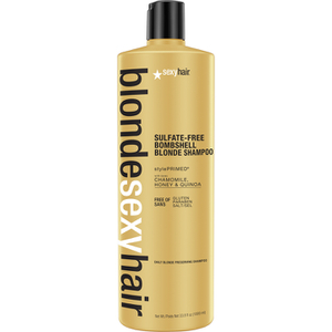 Sexy Hair Blonde Bombshell Blonde Shampoo 1000 ml