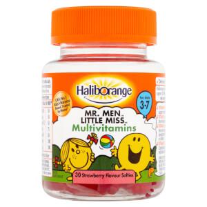 Haliborange Mr Happy Multivitamin Softie - 30 Strawberry Softies