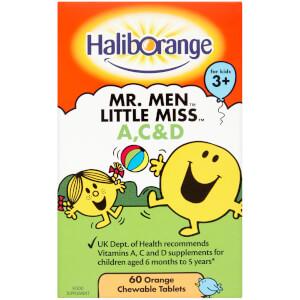 Haliborange Mr Men A, C & D Softies - 60 Tablets