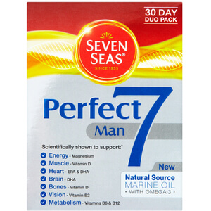 Seven Seas Perfect 7 Man - 30 Day Duo Pack