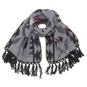 Vero Moda Women's Celine Long Scarf - Light Grey Melange