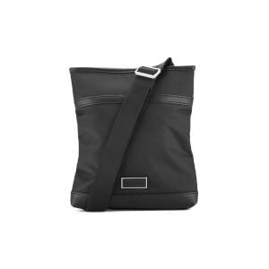 Calvin Klein Men's Ethan Nylon Flat Cross Body Bag - Black