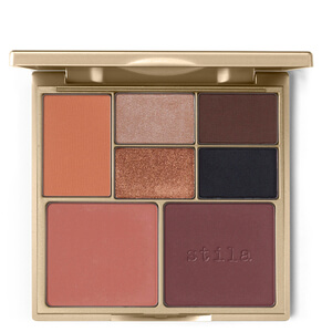 Stila Perfect Me, Perfect Hue Eye & Cheek Palette 14 г - Tan/Deep