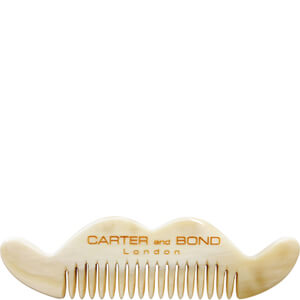 Carter and Bond Moustache Comb - Light