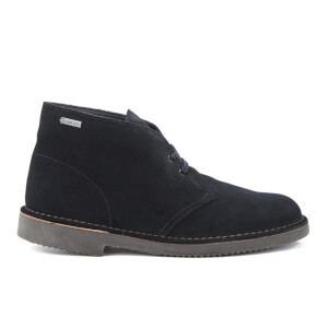 Clarks Originals Men's GORE-TEX Desert Boots - Black Suede