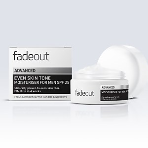 Creme Hidratante para Homem com FPS 25 ADVANCED Even Skin Tone da Fade Out