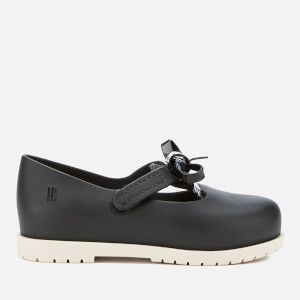 Mini Melissa Toddlers' Classic Bow Flats - Black
