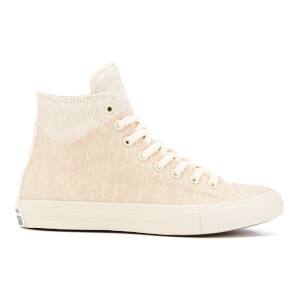 Converse Men's Chuck Taylor All Star II Translucent Rubber Hi-Top Trainers - Buff/Ash Grey/Gum