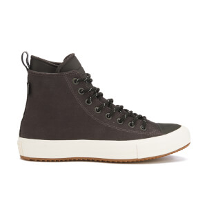 Converse Men's Chuck Taylor All Star II Shield Canvas Hi-Top Trainers - Almost Black/Black/Egret