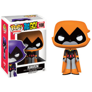Teen Titans Go! Raven Orange Funko Pop! Figur