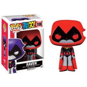 Teen Titans Go! Raven Red EXC Funko Pop! Vinyl