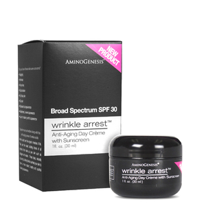 AminoGenesis Wrinkle Arrest Anti-Aging Day Cream SPF 30