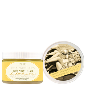 FarmHouse Fresh Fine Salt Body Scrub - Brandy Pear