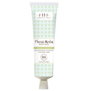 FarmHouse Fresh Fresh Melon Body Milk Travel Lotion